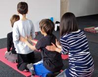 Massage en famille1