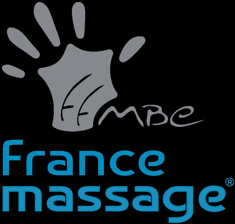 Grand logo france massage rvb
